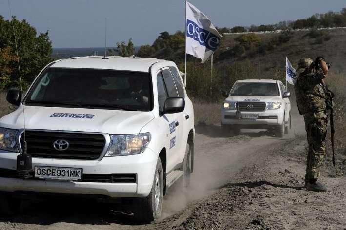 ОБСЄ почала знову використовувати дрони для спостереження заподіями наДонбасі