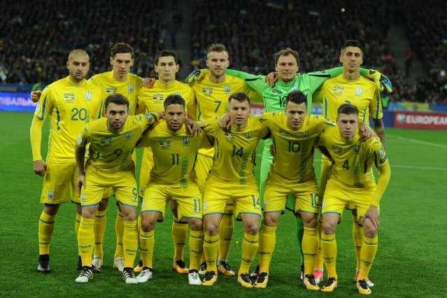 Стали відомі можливі суперники збірної України
