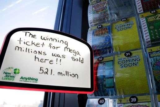 Наавтозаправці продали лотерейний квиток звиграшем $ 521 млн