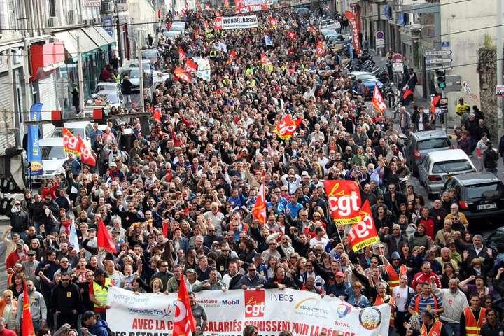 УФранції стартує найбільший страйк працівників залізниць