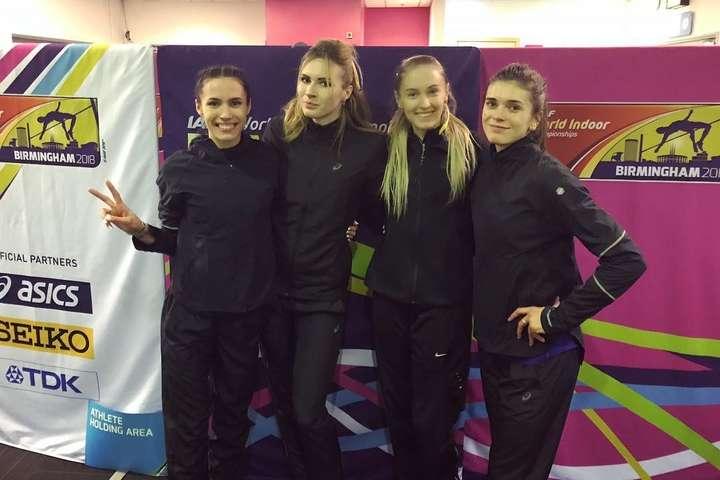Форма без національної символіки, у якій збірна України з легкої атлетики виступала на Чемпіонаті світу в Бірмінгемі