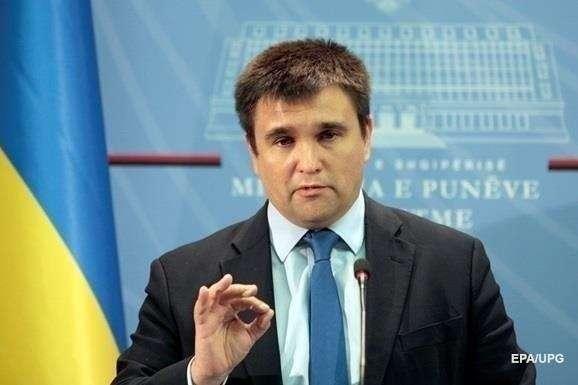 Клімкін засудив провокаційну акцію протесту перед Посольством Польщі уКиєві