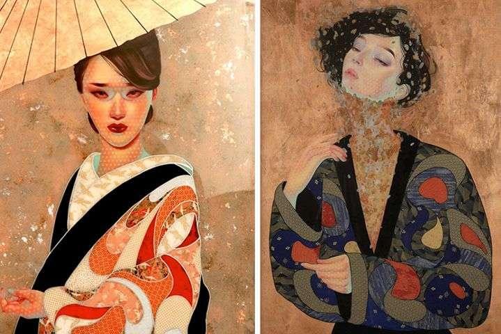 Необычные портреты японцев, анальный с толстыми