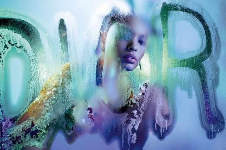 Серия фотографий для Dior Magazine - Dior выложил серию снимков с кричащим  макияжем a621b54ea0b97