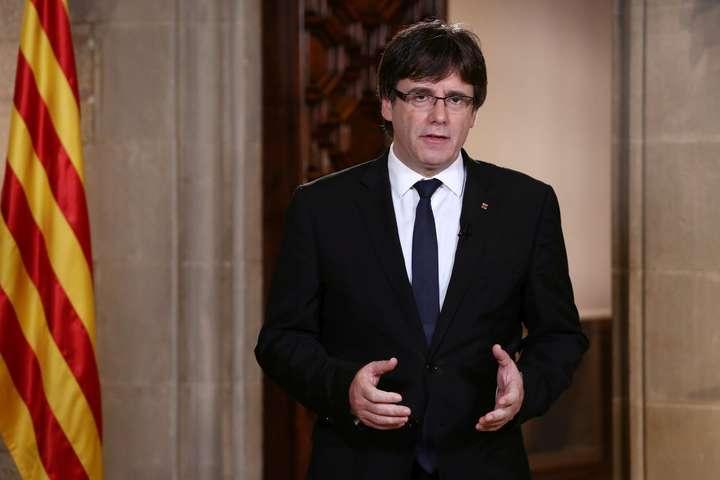 Колишній голова Каталонії Пучдемон планував втекти доРосії