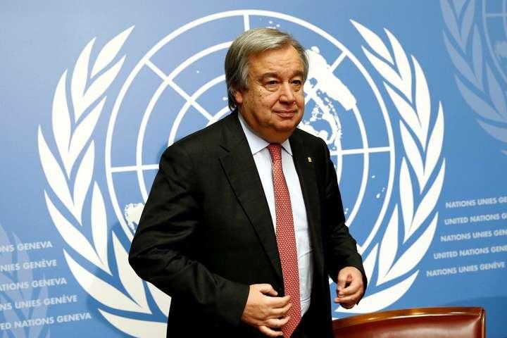 Ситуація вСирії: генсек ООН провів переговори зпостійними членами Радбезу