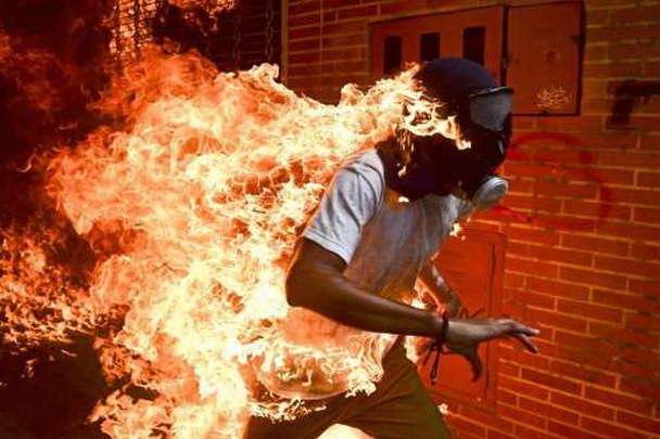 Фотограф из Венесуэлы выиграл международный конкурс World Press Photo