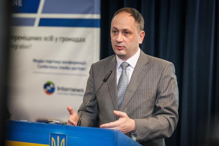 Керівник міністерства з питань тимчасово окупованих територій Вадим Черниш