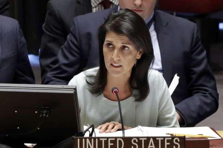 Постпред США при ООН закликає доборотьби проти застосування хімзброї усвіті