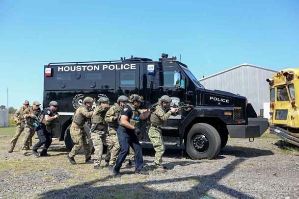 У США пройшов тренінг SWAT за участю українського спецназу