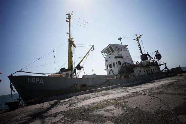 Екіпажу судна «Норд» загрожує штраф за спробу втекти з України