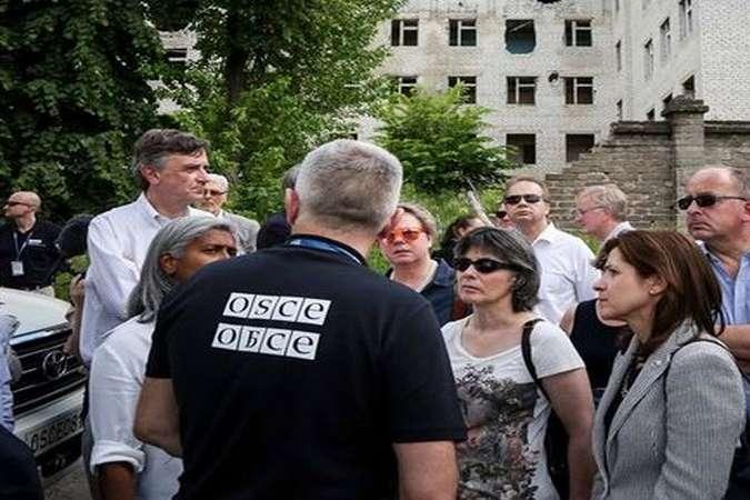 Місія ОБСЄ відвідала «ядерну» шахту «Юнком» на окупованій Донеччині