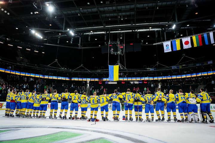 Хокейна збірна України стартувала начемпіонаті світу зперемоги