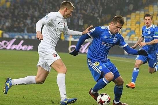 «Динамо» розгромило рівненський «Верес»