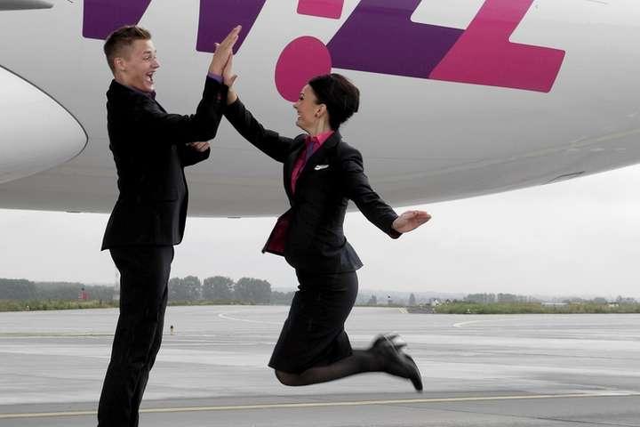 Wizz Air відкриває 3 нові напрямки з Києва