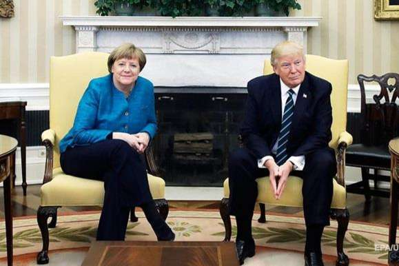 Меркель і Трамп обговорили ситуацію наДонбасі