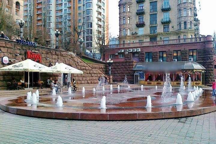 Києву повернули технічні приміщення фонтану наХрещатику