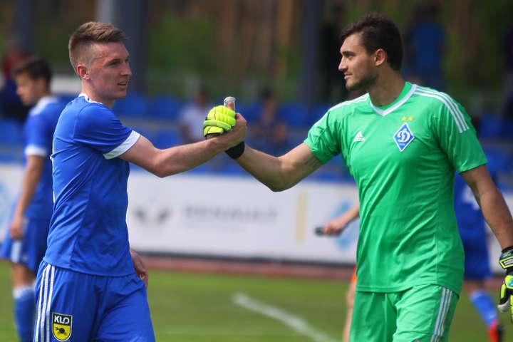 Сергій Сидорчук і Георгій Бущан. Фото ФК «Динамо»