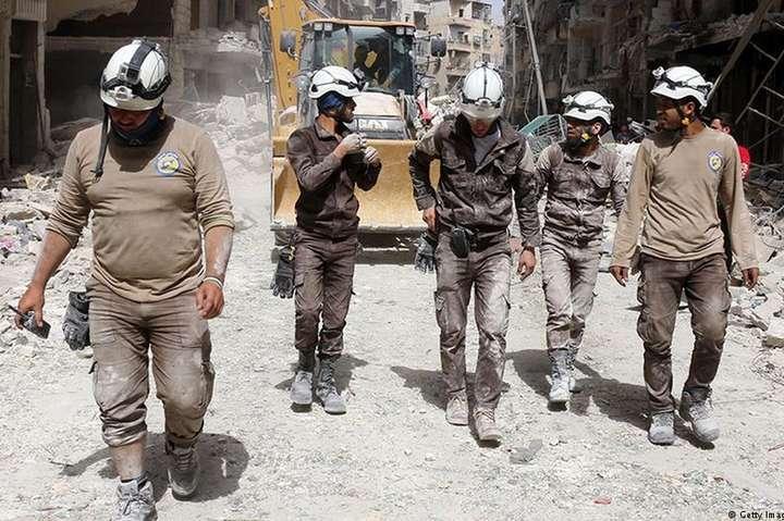 США залишили сирійські «білі каски» без грошей