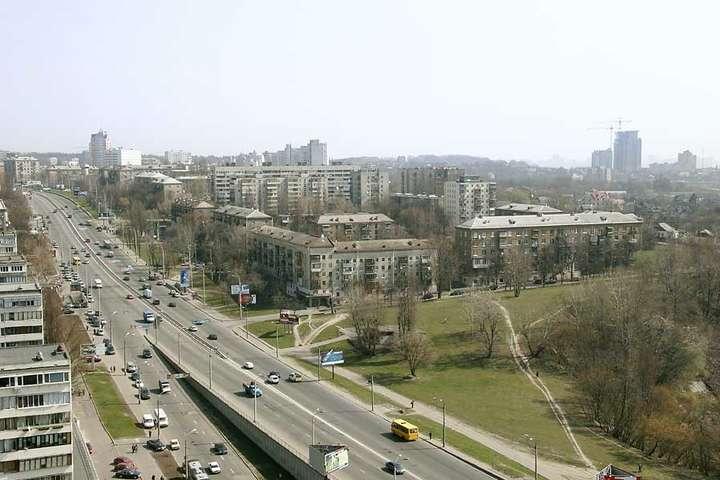 ВГолосіївському районі облаштують панорамну алею тафонтани— КМДА
