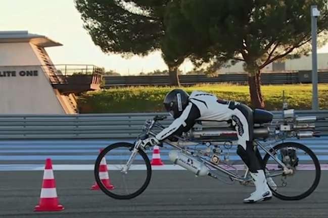 Реактивний велосипед