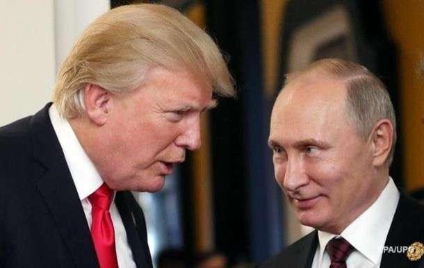 Трамп відреагував на інавгурацію Путіна