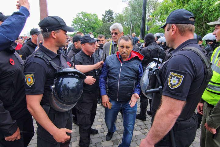 В Одесі затримали людей, які вдягли георгіївські стрічки і славили Путіна