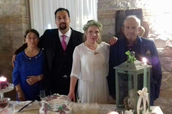 Фото з весілляÐÐ½Ñ'оніо Жірарді іÐœÐ°Ñ€Ð¸Ð½Ð¸ Новожилової