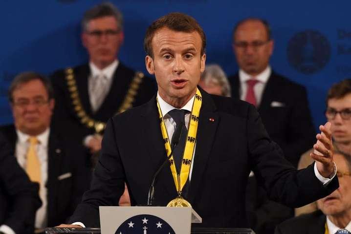 Макрон призвал европейцев объединиться ибыть храбрыми