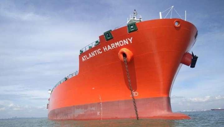 <span>Корабель</span><span>Atlantic Harmony, на якому працювали українці</span>
