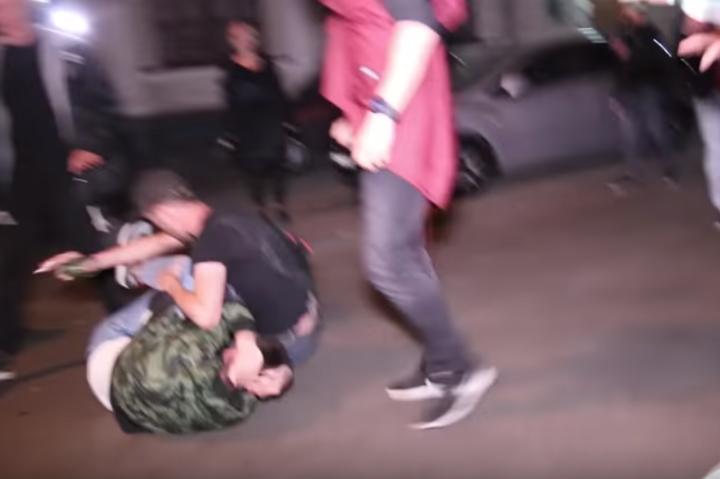 УКиєві сталася масова бійка: опубліковано відео