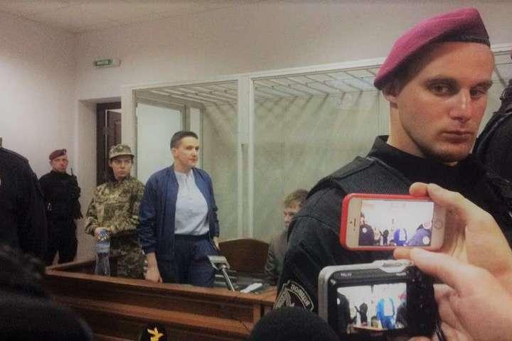 Надія Савченко у суді 14 травня