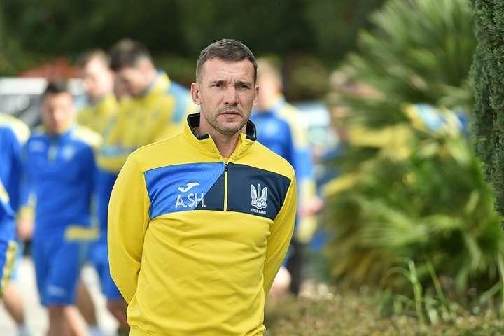Шевченко викликав узбірну 19-річного таланта і ще24 гравців