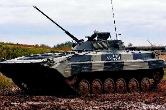 Чотирьох військовослужбовців госпіталізували внаслідок зіткнення бойових машин уМукачеві