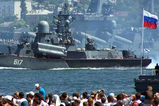 Путін зацікавився проблемами військово-морського флоту