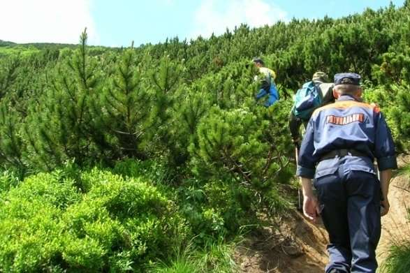 Рятувальники у горах розшукували туристів
