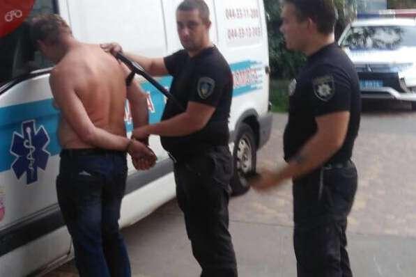 Затриманий — Поліцейські зловили п'яного водія «швидкої» у Вишневому
