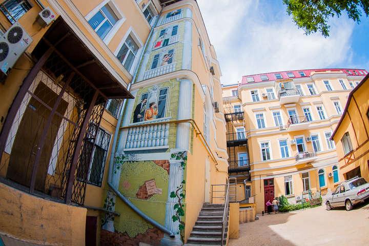 Двор Дома Бабеля - Арт-дворик в центре Одессы: красочные фото