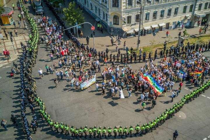 «Марш рівності» показав, що права кількох сотень його учасників є більш «рівними»