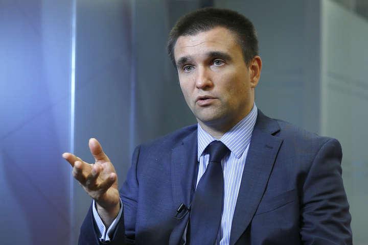 Клімкін розповів про шанси нового обміну полоненими з Росією