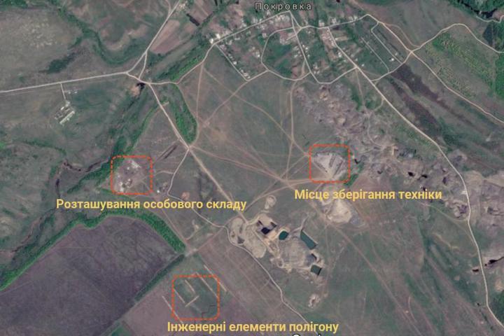 У мережі з'явилися фото полігону терористів «ДНР»