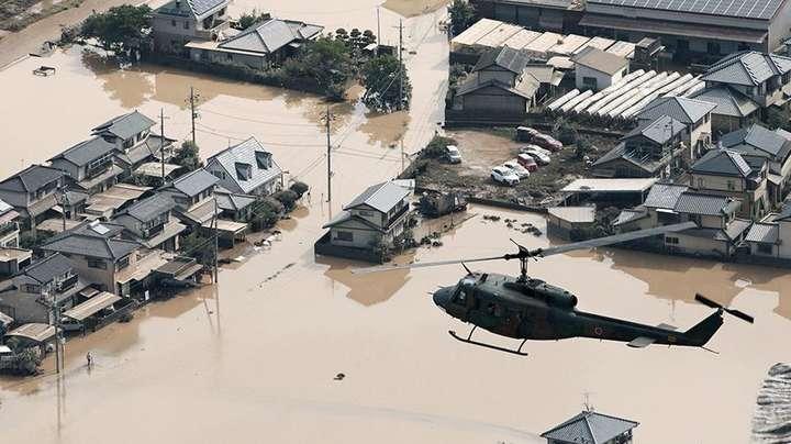 Кількість загиблих через зливи в Японії перевищила сто осіб — Смертоносні дощі в Японії: кількість жертв зросла до 103 осіб