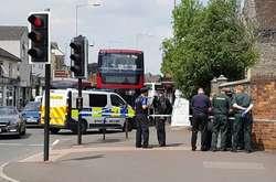 Фото: — Поліція на місці інциденту