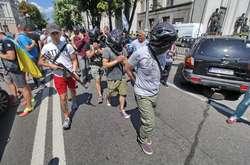 Фото: - <p>Акція &laquo;Національного корпуса&raquo;</p>