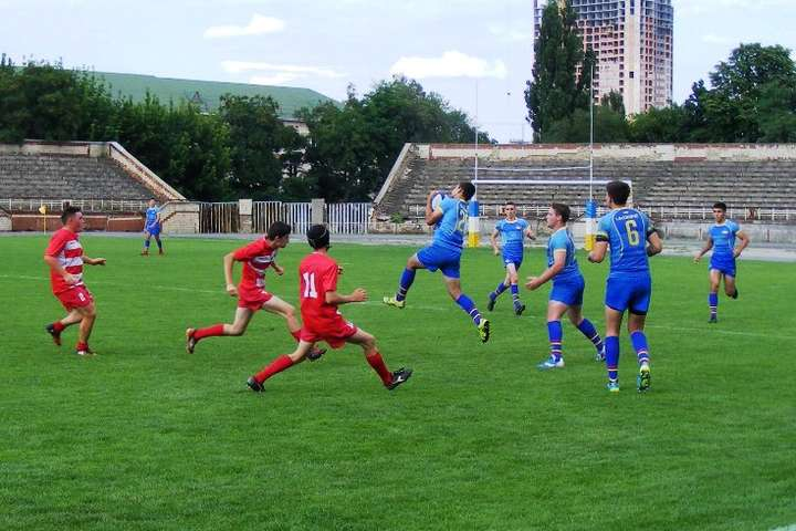 Фото ФРУ - Юніорська збірна України з регбі у контрольному матчі розгромила команду з Румунії