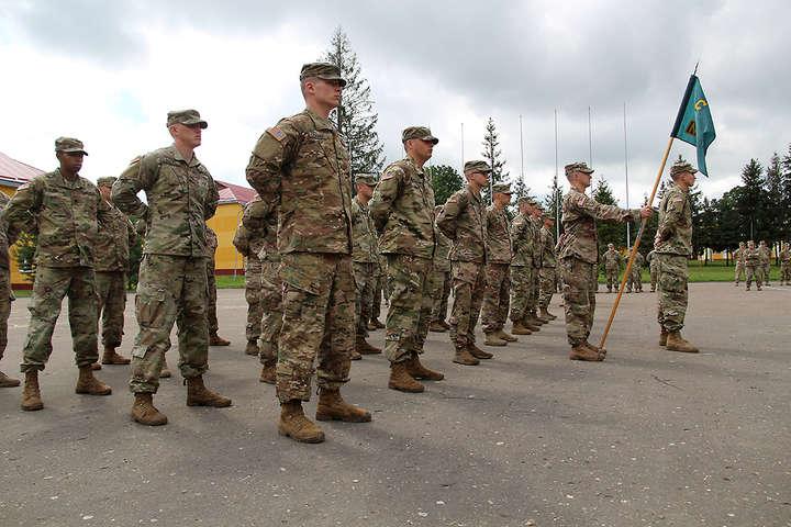 На Львівщині пройшли вишкіл 40 сержантів збройних сил США