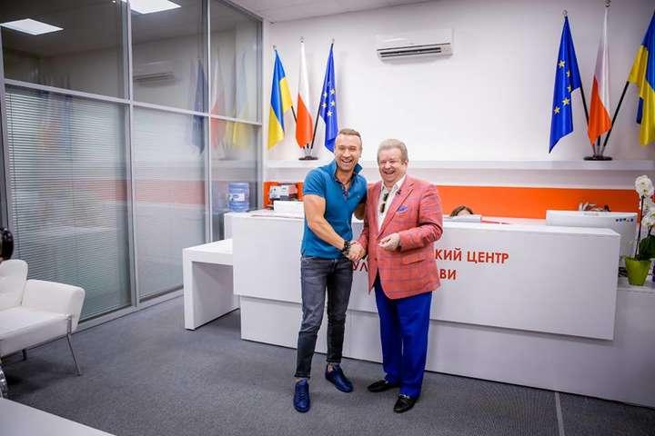 Олег Винник і Михайло Поплавський - Поплавський працевлаштував у свій університет суперзірку