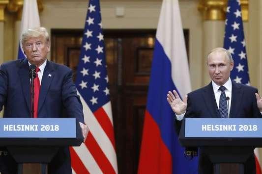 Наобложке Time появилось «совмещенное» лицо Владимира Путина иТрампа