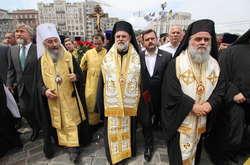 Фото: — Хресний хід УПЦ МП в Києві, 27 липня 2018 року