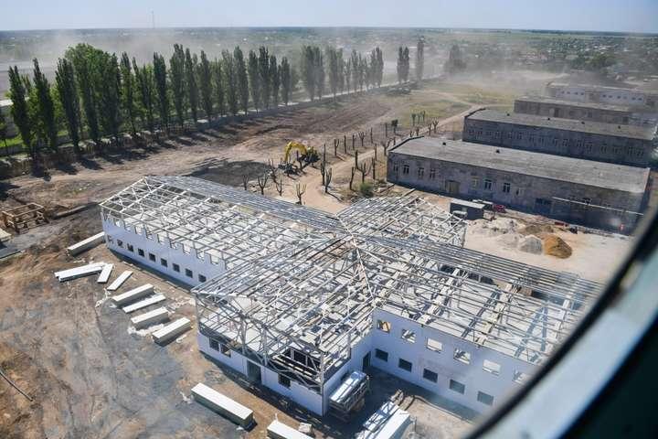 Будівництво військового містечка на Одещині: Державні аудитори знайшли мільйонні порушення
